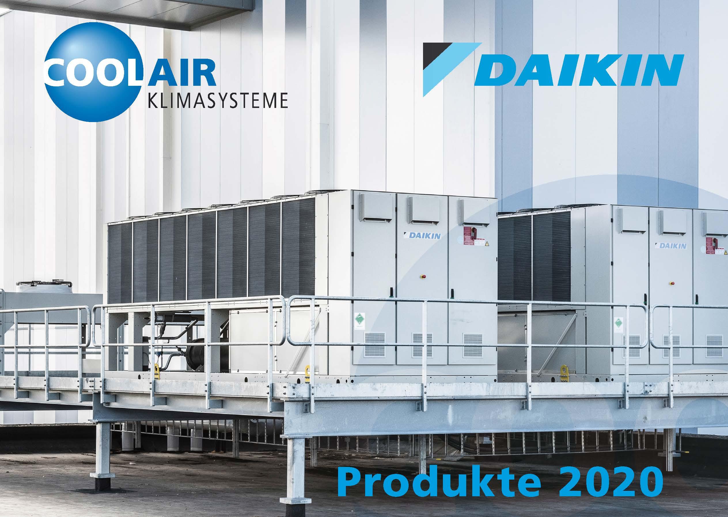 DAIKIN Produkte 2020