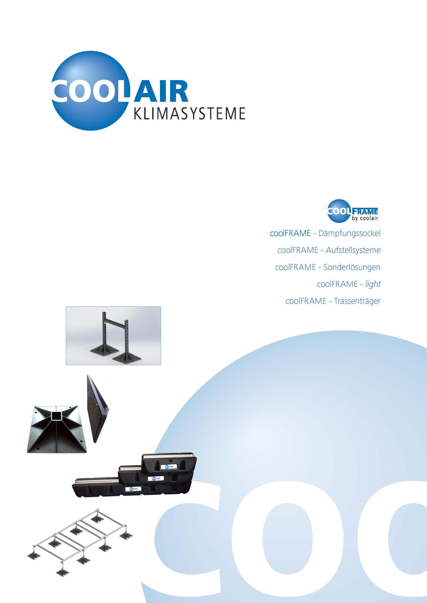 coolFrame Broschüre